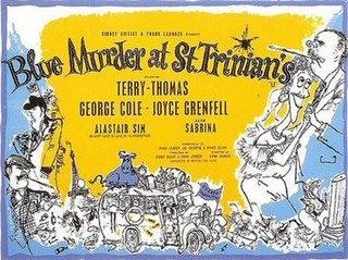 <i>Blue Murder at St Trinians</i> 1957 film by Frank Launder