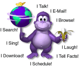 BonziBuddy Former freeware desktop assistant