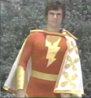 Captain Marvel (DC Comics) - Jackson Bostwick as Captain Marvel on CBS' Shazam! Saturday morning TV series.