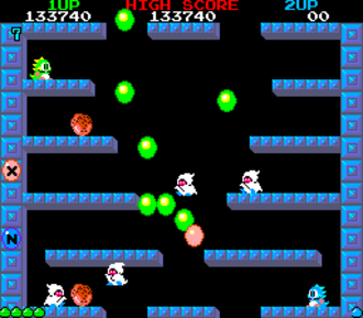 Bubble Bobble - Arcade screenshot