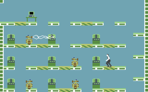 Impossible Mission - Impossible Mission, as seen on the Commodore 64