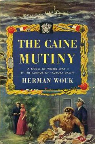 The Caine Mutiny - First edition cover
