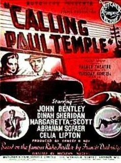 <i>Calling Paul Temple</i> 1948 film by Maclean Rogers