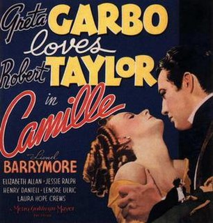 <i>Camille</i> (1936 film) 1936 film by George Cukor