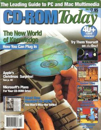 CD-ROM Today - October 1994 issue of CD-ROM Today