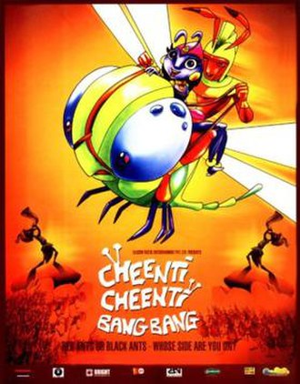Cheenti Cheenti Bang Bang - Theatrical Poster