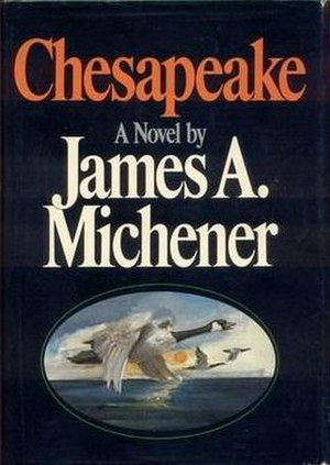Chesapeake (novel) - First edition cover