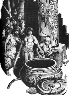 The God in the Bowl Conan short story by Robert E. Howard