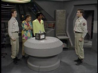Confidence and Paranoia - Lister turns on Kochanski's hologramatic disk only to have another Rimmer appear