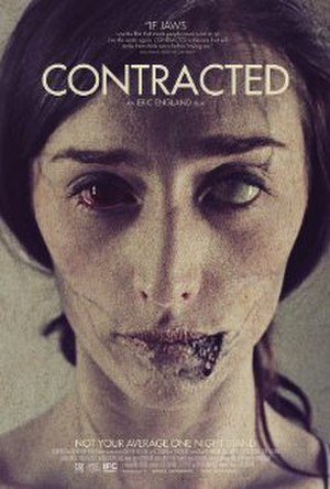 Contracted (film) - Film poster
