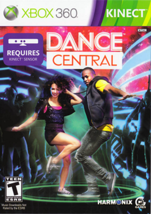 Dance Central (video game) - Image: Dance Central boxart