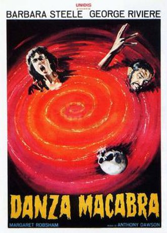 Castle of Blood - Italian film poster for Castle of Blood