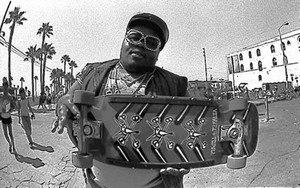 Darren Robinson (rapper) - Robinson in Venice Beach circa 1985