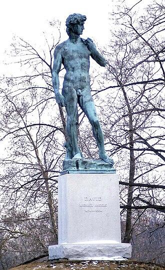 Replicas of Michelangelo's David - Bronze casting in Buffalo, New York