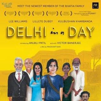 Delhi in a Day - Poster