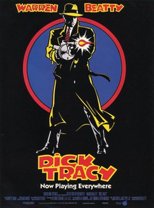 Dick Tracy (1990 film) - Theatrical release poster