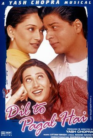 Dil To Pagal Hai - Theatrical Release Poster