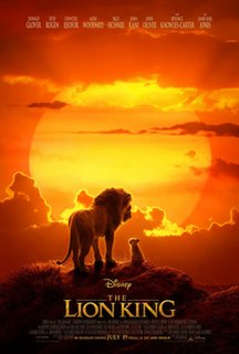 <i>The Lion King</i> (2019 film) 2019 animated film directed by Jon Favreau