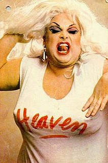 Divine (performer) American singer and drag queen
