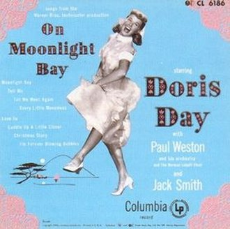 On Moonlight Bay (album) - Image: Doris Day On Moonlight Bay album cover