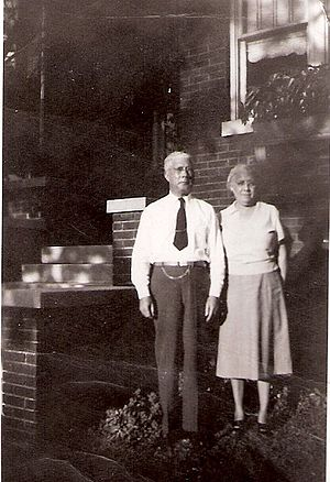 Andrew McKenzie - McKenzie and wife Marie at their home in Tuscaloosa