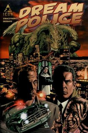 Dream Police (comics) - Cover of the 1st issue