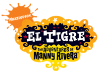 El Tigre: The Adventures of Manny Rivera logo