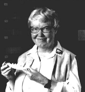 Elaine Anderson American paleontologist