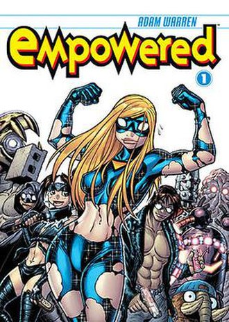Empowered (comics) - Image: Empowered Vol 1 TBP