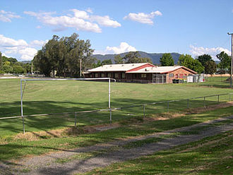 Mooroolbark Soccer Club - Esther Park with Mt Dandenong in the background