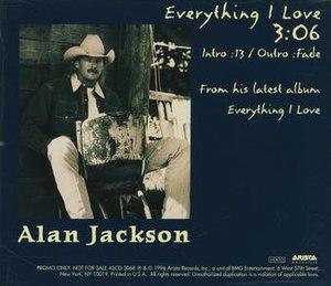 Everything I Love (song) - Image: Everything I Love promo