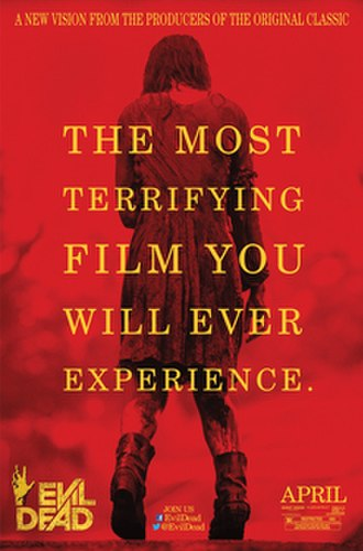 Evil Dead (2013 film) - Theatrical release poster