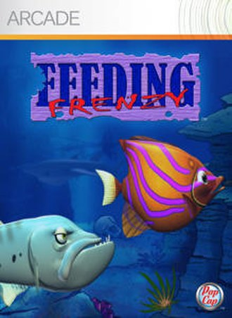 Feeding Frenzy (video game) - Cover from the Xbox 360 version.