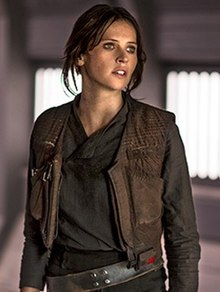 Felicity Jones as Jyn Erso (2016).jpg
