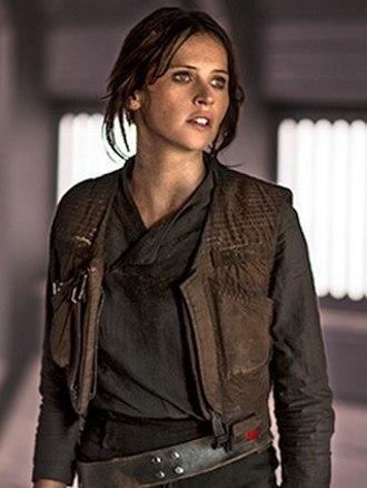 Jyn Erso - Felicity Jones as Jyn Erso from Rogue One (2016)
