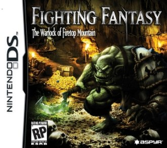Fighting Fantasy: The Warlock of Firetop Mountain - Image: Fighting Fantasy DS Cover