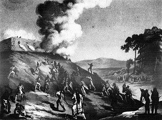 Siege of Fort Harrison - Image: Fort Harrison March