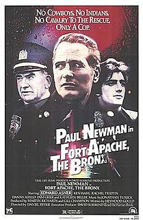 <i>Fort Apache, The Bronx</i> 1981 film by Daniel Petrie