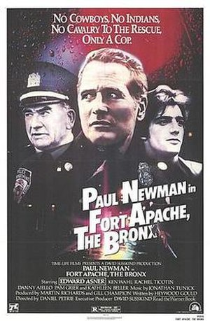 Fort Apache, The Bronx - Film poster for Fort Apache, The Bronx