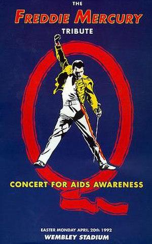 The Freddie Mercury Tribute Concert - Image: Freddie Mercury Tribute Concert poster