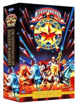 The Adventures of the Galaxy Rangers - DVD box cover
