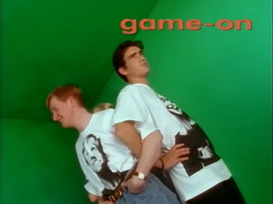 Game On (UK TV series) - Image: Gameontitle