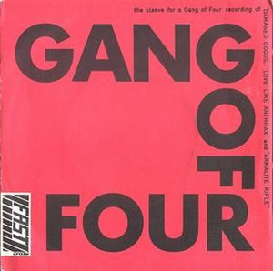 Damaged Goods (song) - Image: Gang of Four Damaged Goods