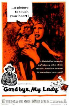 Good-bye My Lady 1955 poster.jpg