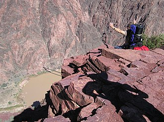 South Kaibab Trail - Colorado River below the Tipoff