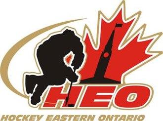Hockey Eastern Ontario - Image: HEO Logo 2013 master logo WHITE