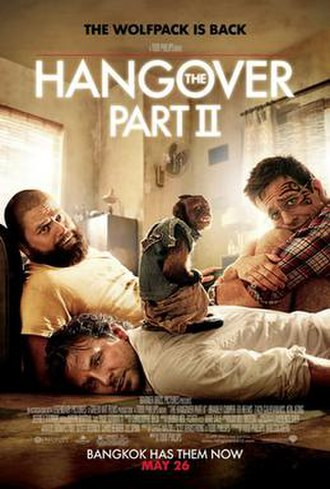 The Hangover Part II - Theatrical release poster