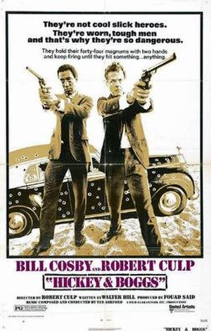 Hickey & Boggs - Theatrical release poster