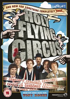 <i>Holy Flying Circus</i> 2011 television film directed by Owen Harris