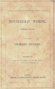 Dickens' weekly magazine featured Hard Times